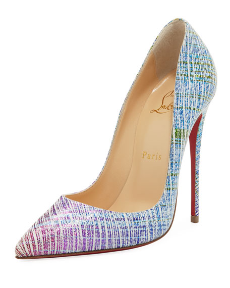 So Kate Ombré Red Sole Pump