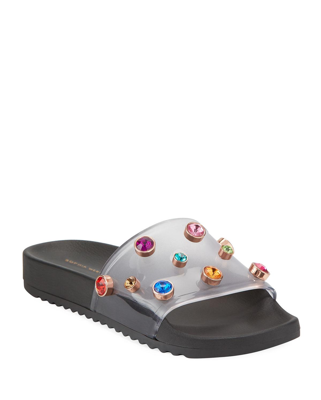 cb085c3a1 Black Crystal Shoes