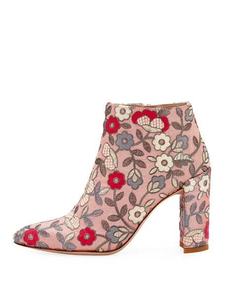 Image 3 of 6: Pure Embroidered 90mm Booties
