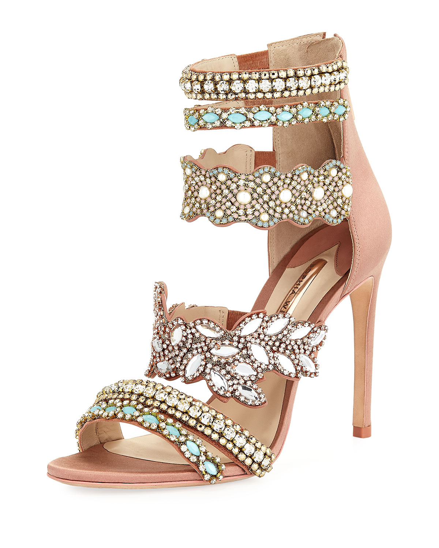 Sophia Webster Eden Crystal-Embellished Mule Sandal uApPf3y8nv