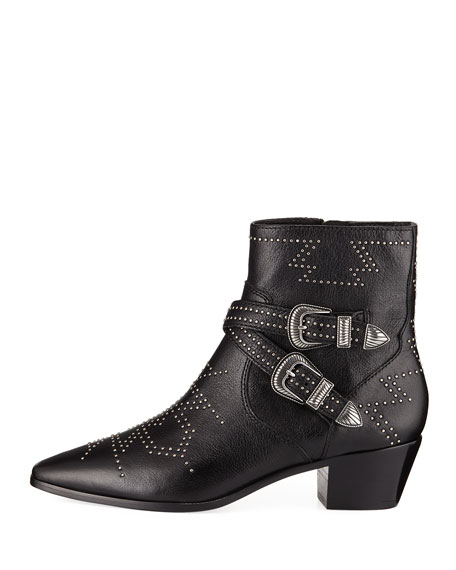 Ellen Deco Buckle Booties