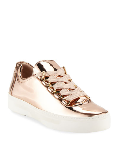 Gaming Metallic Lace-Up Sneaker