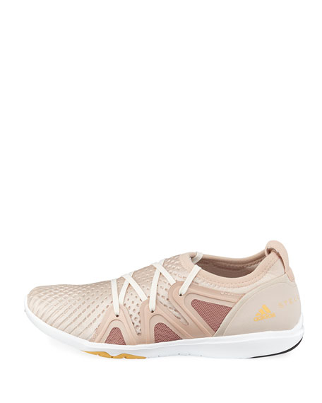 CrazyMove Pro Mid-Top Fabric Trainer Sneakers, Rose