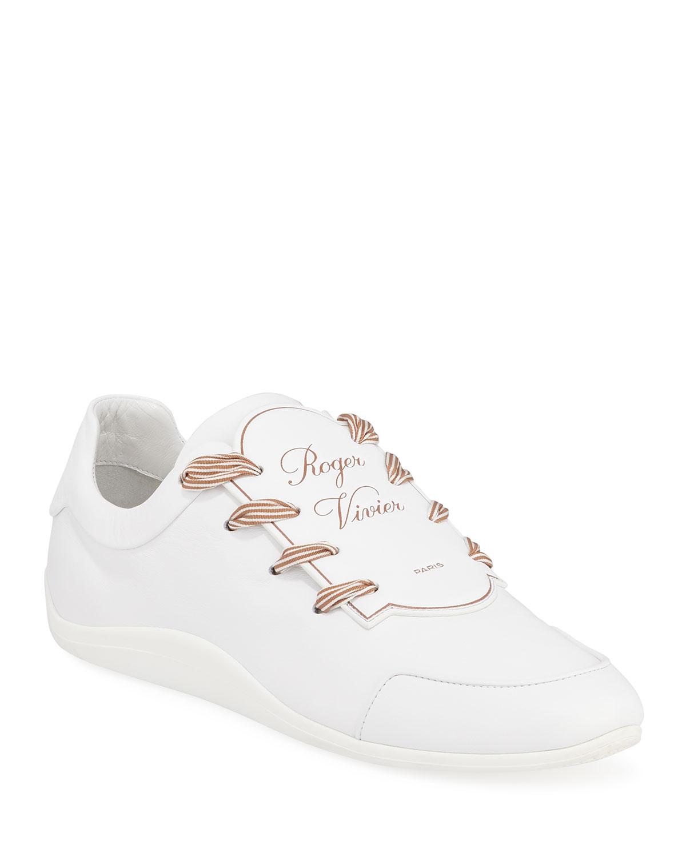 28d1ea57c868 Roger Vivier Sporty Viv Etiquette Sneaker
