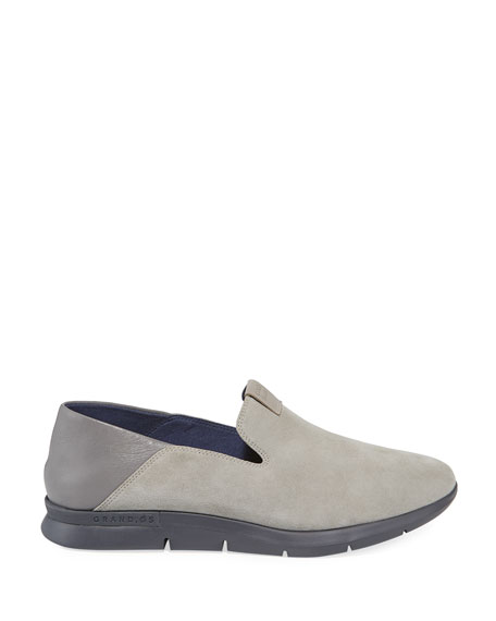 Image 2 of 4: Cole Haan Grand Horizon Slip-On Sneakers, Gray