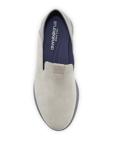 Image 3 of 4: Cole Haan Grand Horizon Slip-On Sneakers, Gray