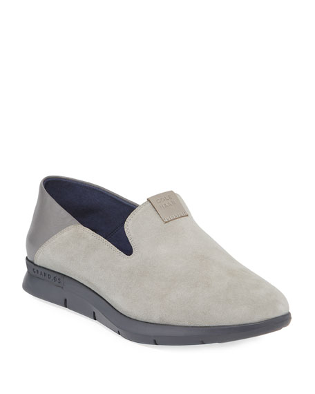 Image 1 of 4: Cole Haan Grand Horizon Slip-On Sneakers, Gray