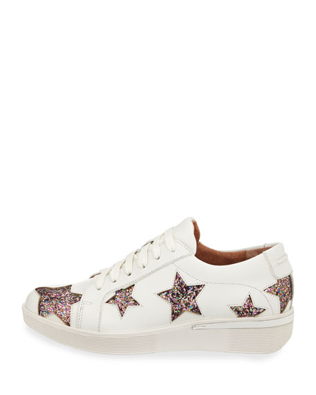 Haddie Glitter Star Sneakers