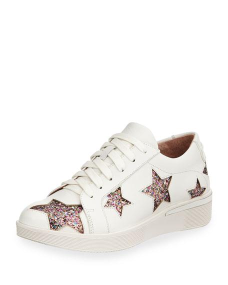 Gentle Souls Haddie Glitter Star Sneakers
