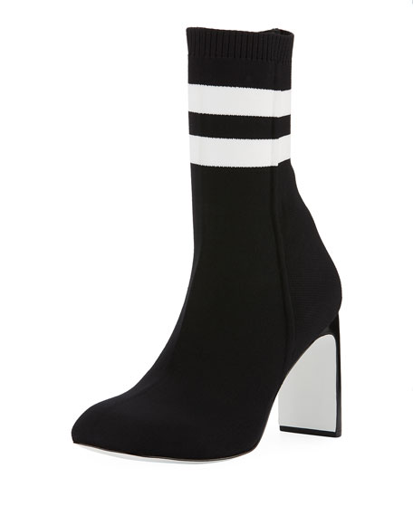 Rag & Bone Ellis Striped Sock Boot