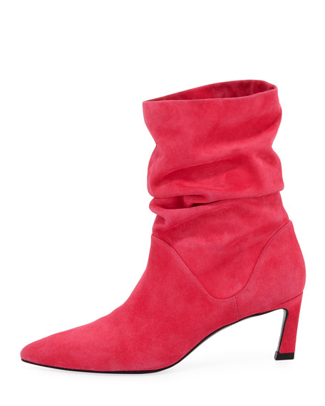 Demibenatar Slouched Suede Bootie