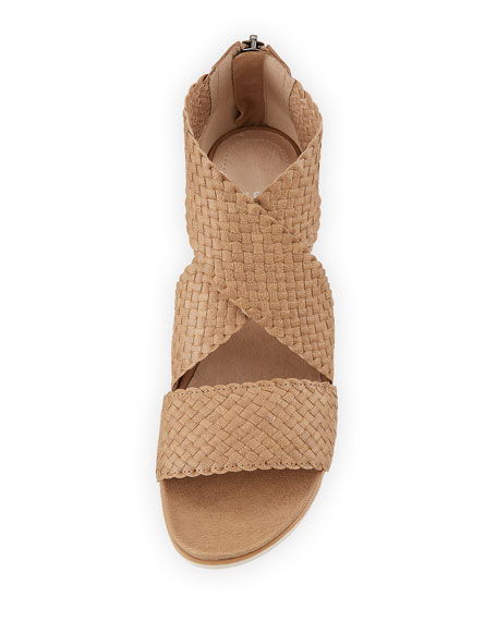 Sport Woven Platform Sandals