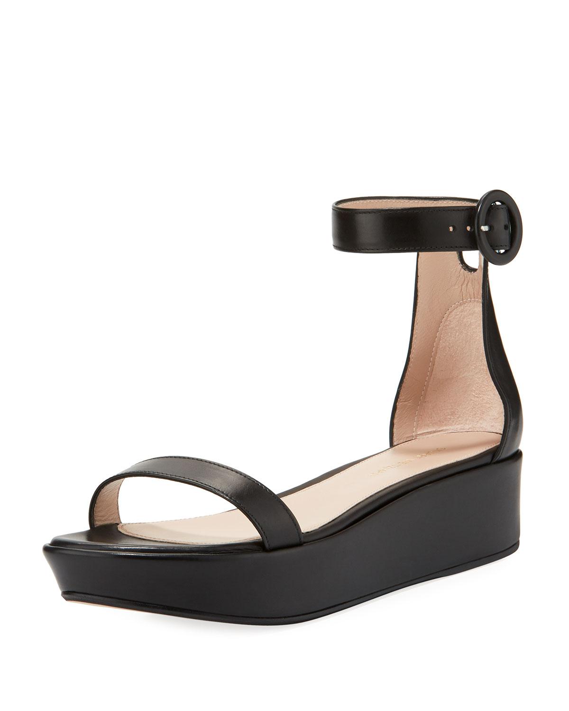f7a384114185 Stuart Weitzman Capri Wedge Platform Sandals