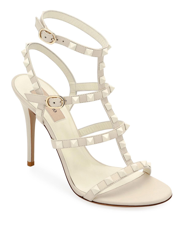 dd42f33b5cc Valentino Garavani Rockstud High Strappy Sandals
