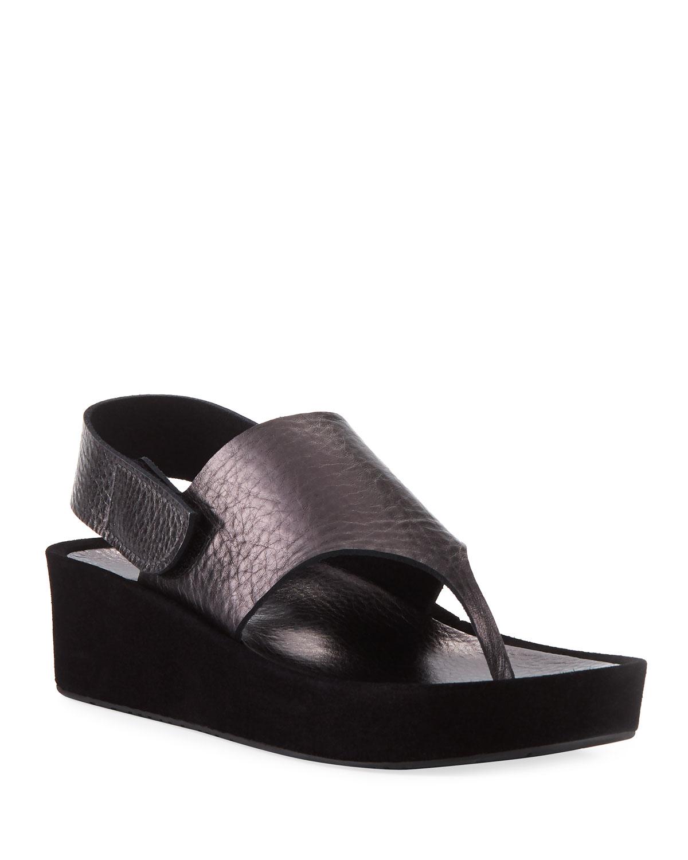 c6ce4722431ac Pedro Garcia Lindy Metallic 50mm Sandal