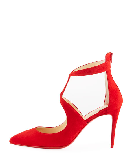 Rosas 85mm Red Sole Pumps