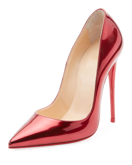 So Kate Patent Red Sole Pumps