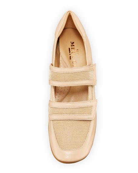 Sesto Meucci Gyan Napa Leather Mary Jane Sneakers