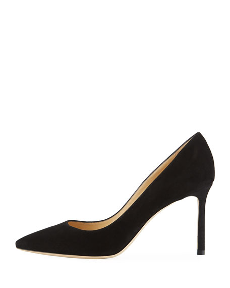 Romy Suede 85mm Pump