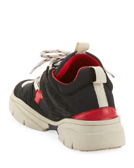 Image 3 of 3: Kindsay Chunky Low-Top Sneakers