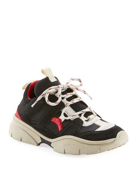 Image 1 of 3: Kindsay Chunky Low-Top Sneakers