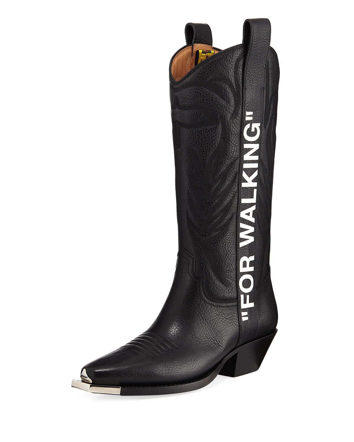 size 40 the sale of shoes sleek Off-White For Walking Western Boots | Neiman Marcus
