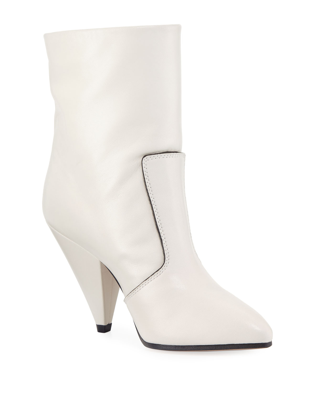 Stuart Weitzman Atomic West Tall Booties, Oyster   Marcus Neiman Marcus  e5c1d0