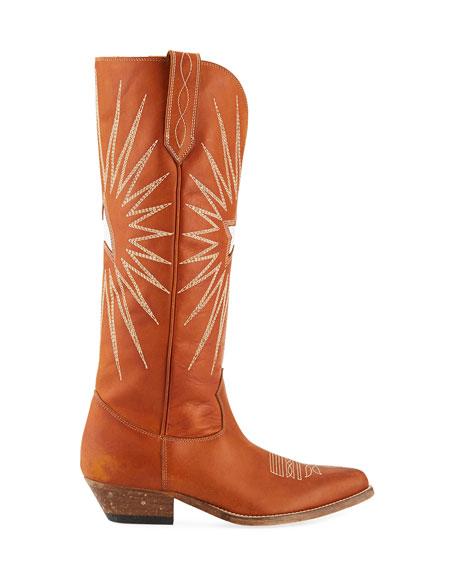Wish Star Knee-High Cowboy Boot