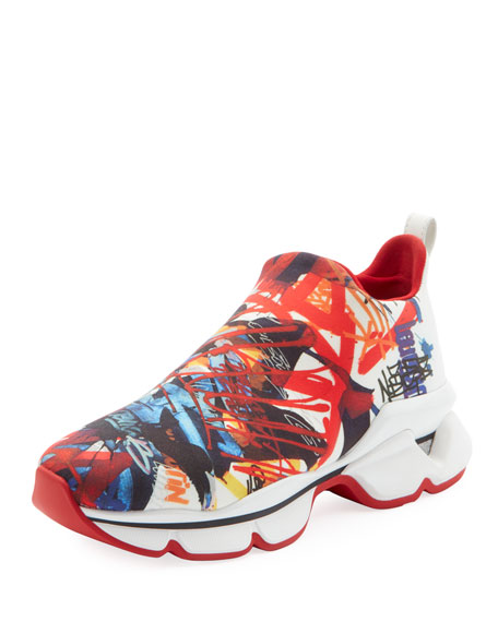 super popular fd031 fb593 Space Run Donna Red Sole Sneakers
