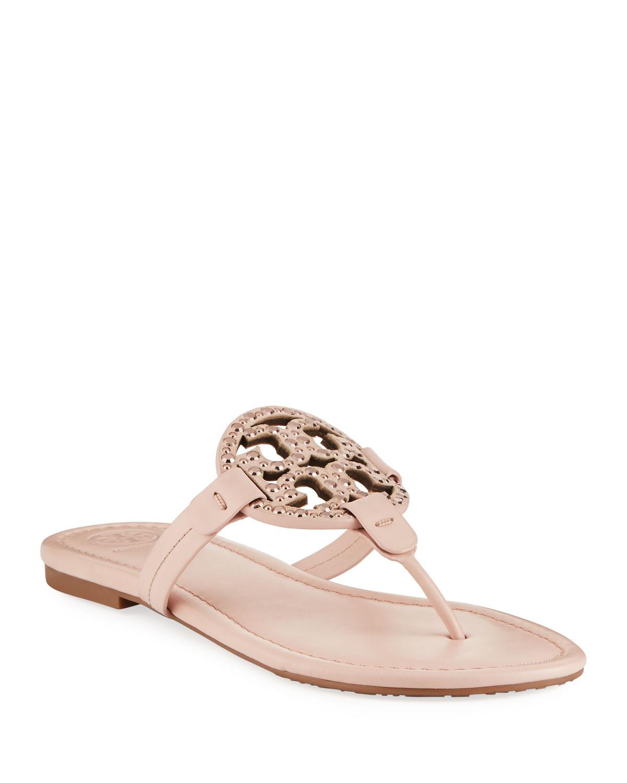 tory burch seashell pink flats