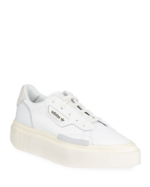 d93f3d0b431 Adidas Hypersleek Leather Platform Sneakers