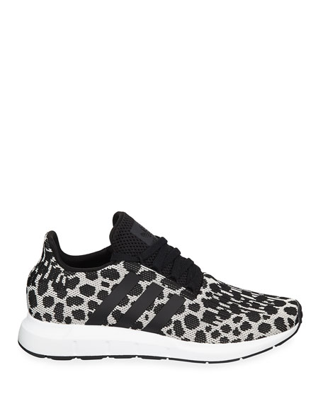 Adidas Swift Run Cheetah-Print Trainer