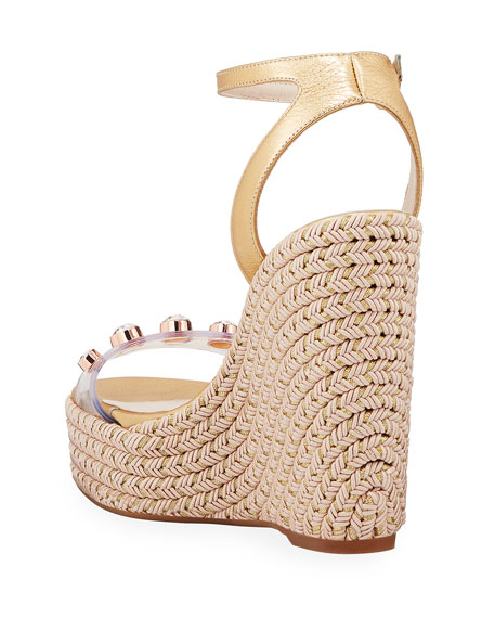 7200b9ba5f35 Sophia Webster Dina Gem Espadrille Sandals
