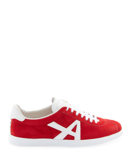 Image 2 of 3: Aquazzura The A Suede Sneakers