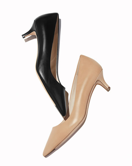 Cole Haan Vesta Grand Italian Leather Pumps, Mocha