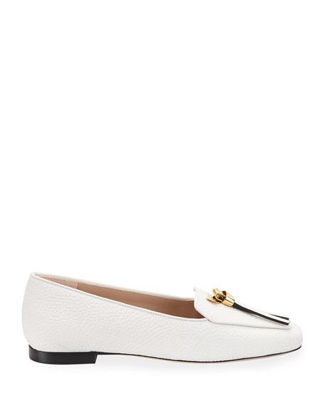 Stuart Weitzman Slip-Knot Flat Loafers