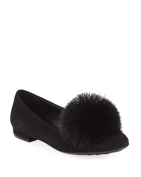 Sesto Meucci Kasen Pompom Loafers