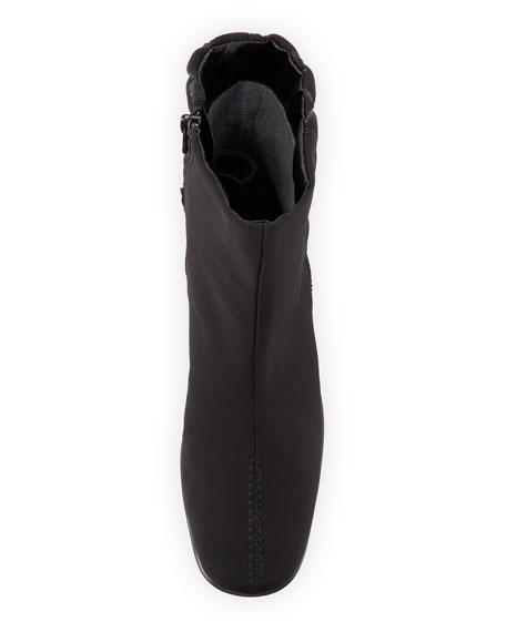 Sesto Meucci Yan Waterproof Booties with Buckle Detail