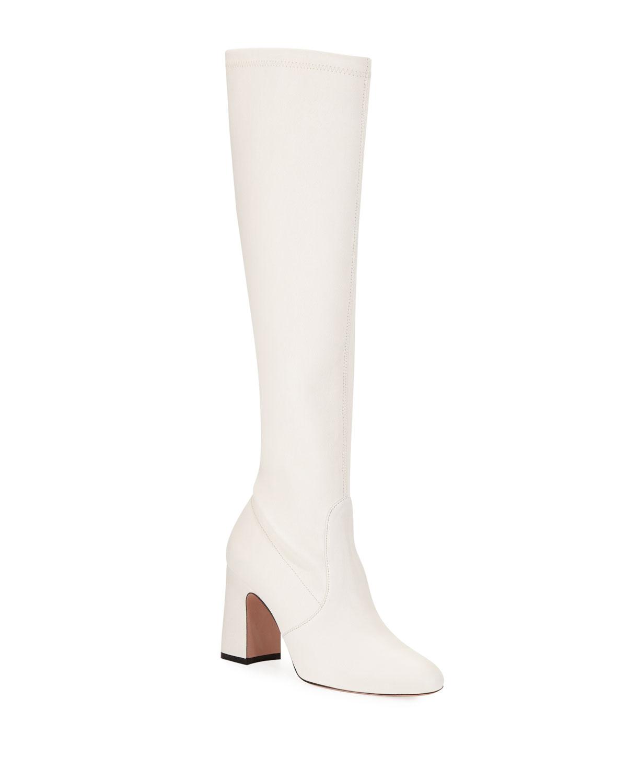 Stuart Weitzman Milla Leather Knee