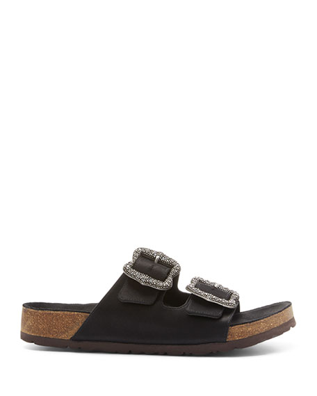 Marc Jacobs Grunge Two-Strap Sandals
