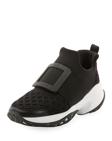 Roger Vivier Viv Run Sneakers   Neiman