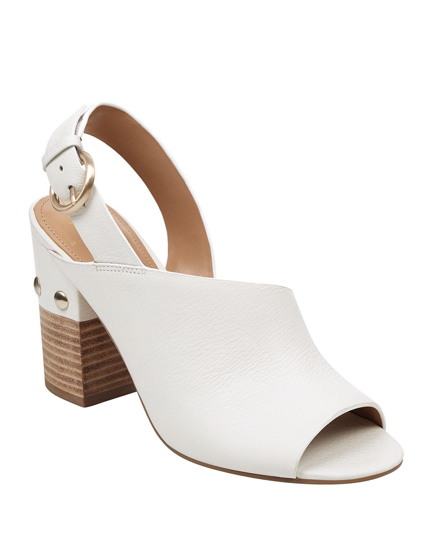 5fb485c76 Marc Fisher LTD Waleis Leather Slingback Sandals