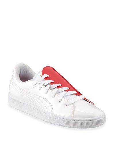 Basket Crush Half-Heart Sneakers