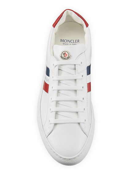 Moncler New Leni Low-Top Leather Sneakers