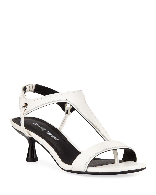 dd3bb78d998 Donald J Pliner Caro T-Strap Leather Sandals