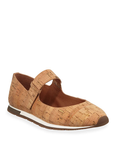 Luca Cork Mary Jane Sneakers