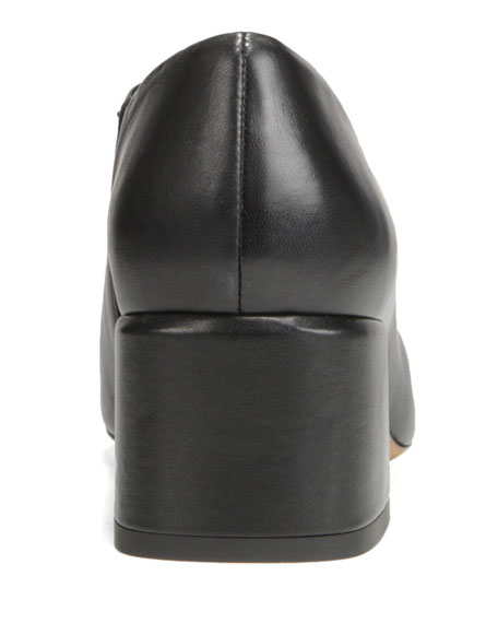 Vince Delancy Leather Ankle Booties
