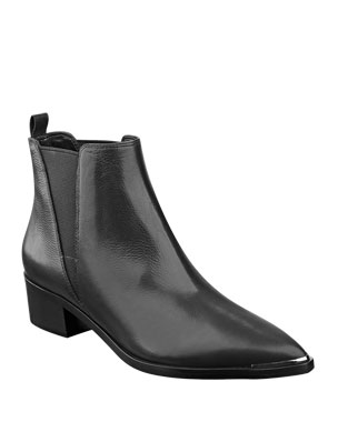 86f5906ac92d Marc Fisher LTD Yale Leather Pointed Booties