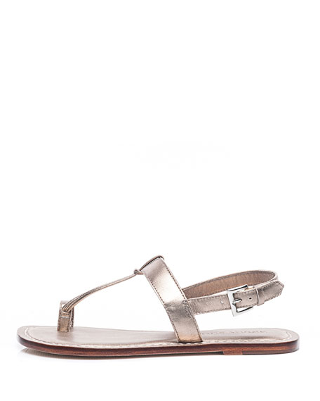 Image 2 of 3: Maverick Toe-Strap Flat Sandals