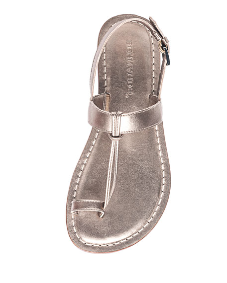 Image 3 of 3: Maverick Toe-Strap Flat Sandals